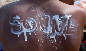"""""""Sonne"""" auf Haut"""