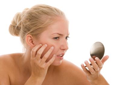 unreine Haut schminken