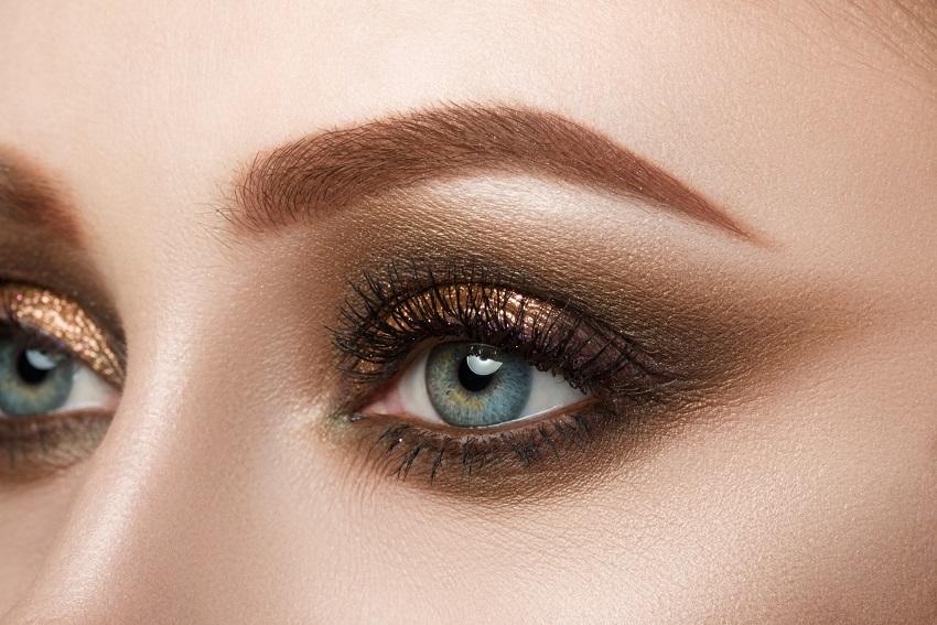 Echte Blickfänge - die neuen Augen-Make-up-Looks für den Herbst